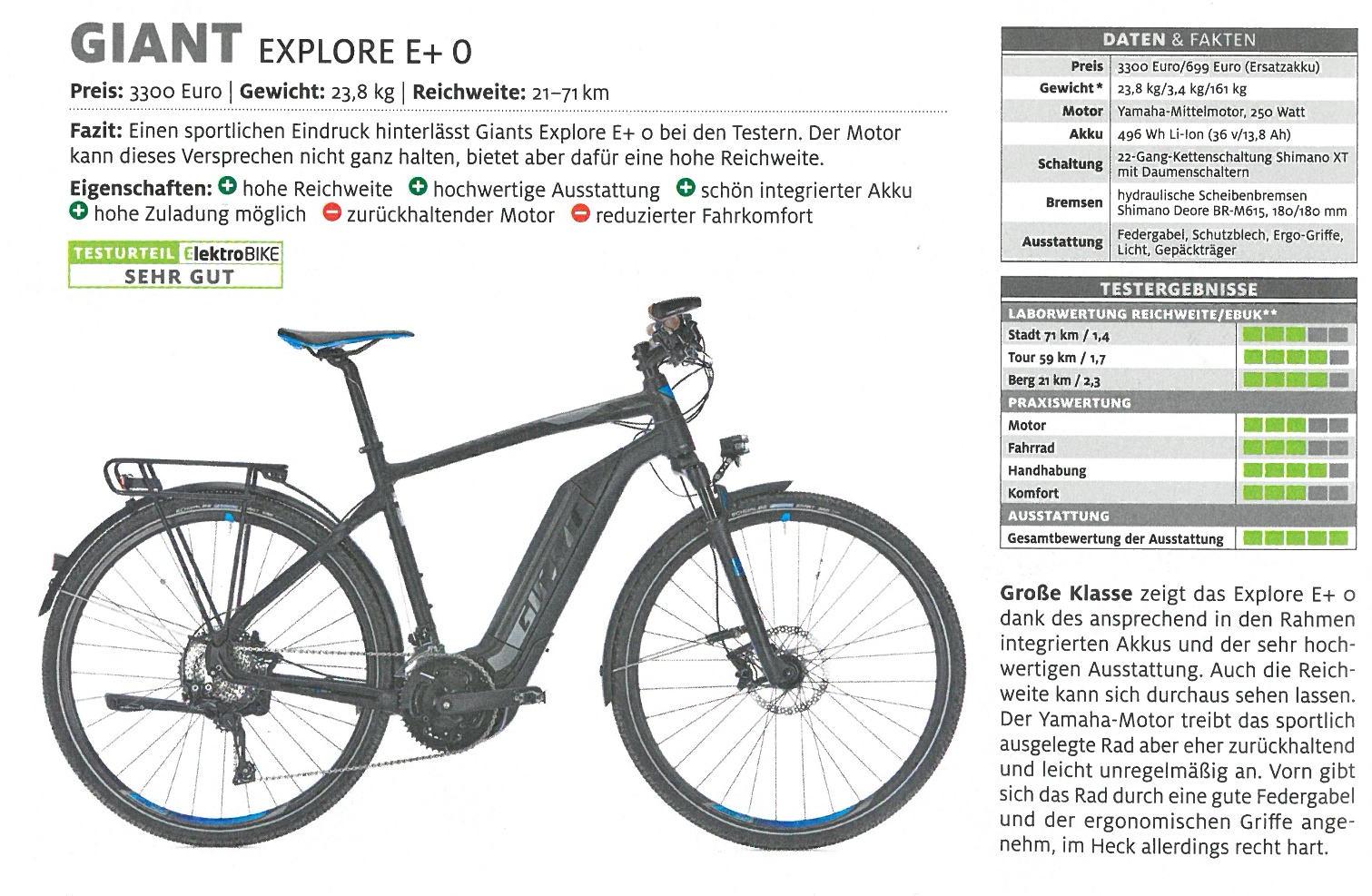 Explore E+ 0 in ElektroBIKE 01_17